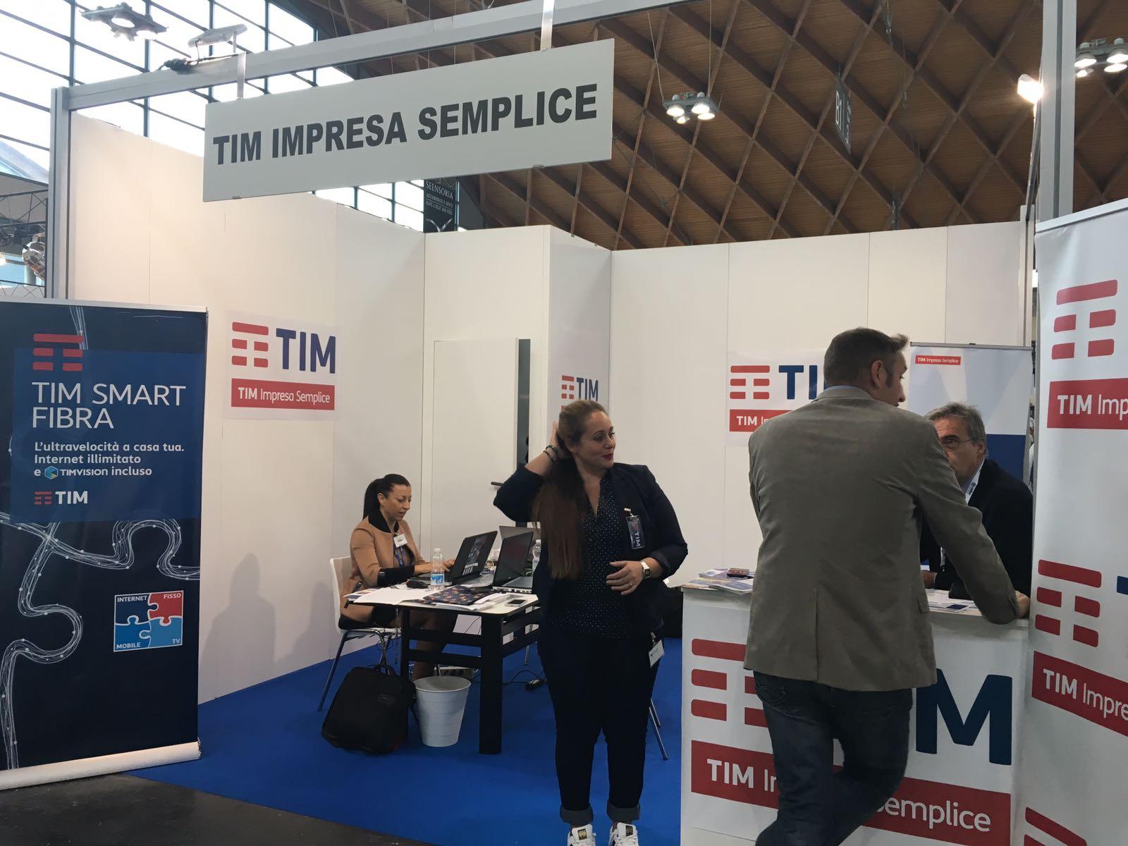 Fiera TTG Gruppo Sistema Italia TIM